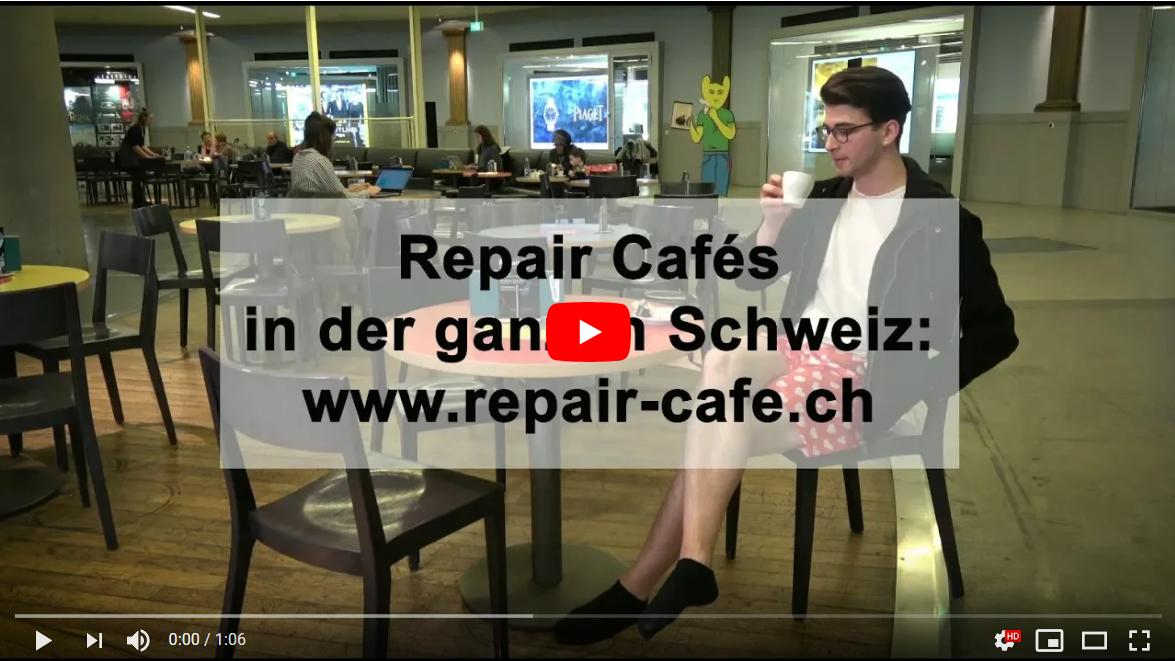 Videoclip Repair Café - Schenk deinen defekten Dingen ein 2. Leben!