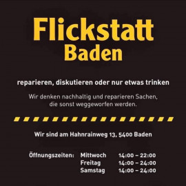 Die Flickstatt - Deine Reparaturkultur in Baden