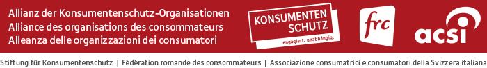 Konsumentenschutz Logo